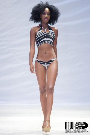 Bri Wireduah Criss Cross Halter Neck Bikini