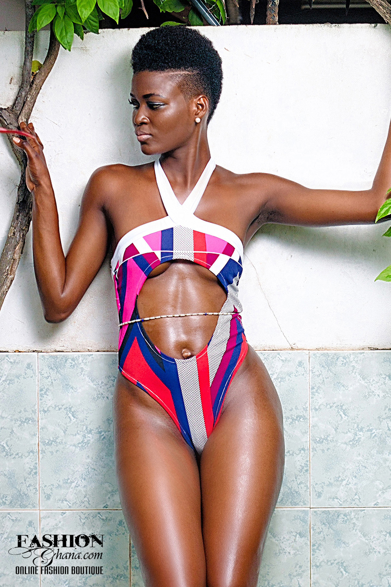 DEJACK Clothing Belly Cut-Out Swimsuit